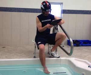Peyton Manning hot tub